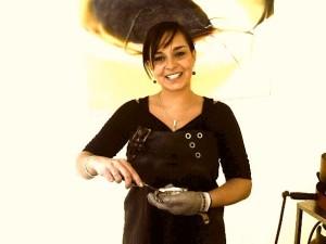 Roxanne van Sanna's Cookery is finalist van het NK-Oestersteken 2015